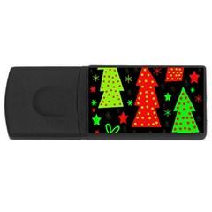Merry Xmas USB Flash Drive Rectangular (2 GB)