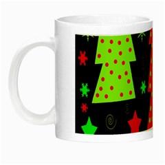 Merry Xmas Night Luminous Mugs