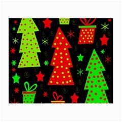 Merry Xmas Small Glasses Cloth