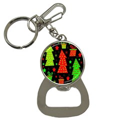 Merry Xmas Bottle Opener Key Chains