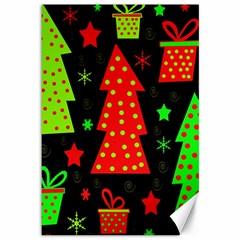 Merry Xmas Canvas 12  x 18