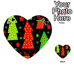 Merry Xmas Playing Cards 54 (Heart)