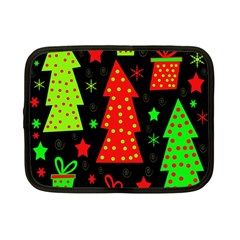 Merry Xmas Netbook Case (Small)
