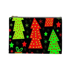 Merry Xmas Cosmetic Bag (Large)