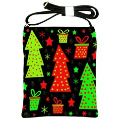 Merry Xmas Shoulder Sling Bags