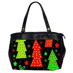 Merry Xmas Office Handbags (2 Sides)