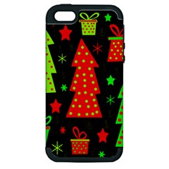 Merry Xmas Apple iPhone 5 Hardshell Case (PC+Silicone)