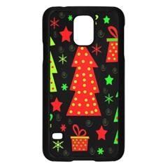 Merry Xmas Samsung Galaxy S5 Case (Black)