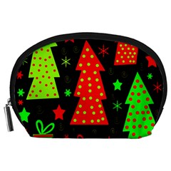 Merry Xmas Accessory Pouches (Large)