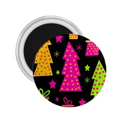 Colorful Xmas 2.25  Magnets