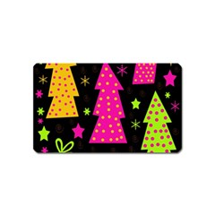 Colorful Xmas Magnet (Name Card)