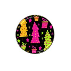 Colorful Xmas Hat Clip Ball Marker (10 pack)