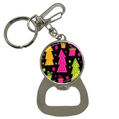 Colorful Xmas Bottle Opener Key Chains