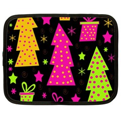 Colorful Xmas Netbook Case (XXL)