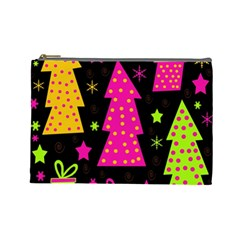Colorful Xmas Cosmetic Bag (Large)