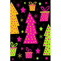 Colorful Xmas 5.5  x 8.5  Notebooks