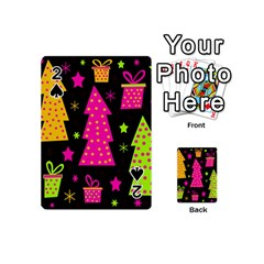 Colorful Xmas Playing Cards 54 (Mini)