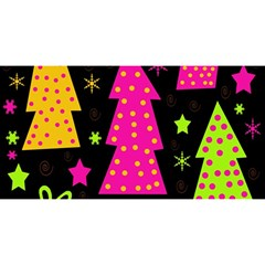Colorful Xmas YOU ARE INVITED 3D Greeting Card (8x4)
