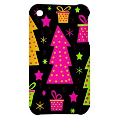 Colorful Xmas Apple iPhone 3G/3GS Hardshell Case