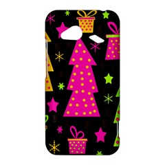 Colorful Xmas HTC Droid Incredible 4G LTE Hardshell Case
