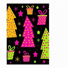 Colorful Xmas Small Garden Flag (Two Sides)