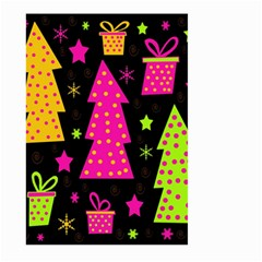 Colorful Xmas Large Garden Flag (Two Sides)