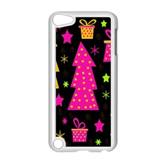 Colorful Xmas Apple iPod Touch 5 Case (White)