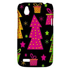 Colorful Xmas HTC Desire V (T328W) Hardshell Case