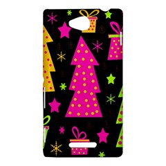 Colorful Xmas Sony Xperia C (S39H)