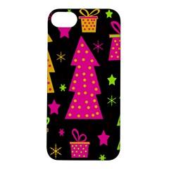 Colorful Xmas Apple iPhone 5S/ SE Hardshell Case