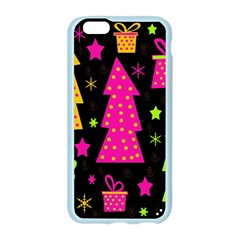 Colorful Xmas Apple Seamless iPhone 6/6S Case (Color)