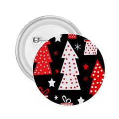 Red playful Xmas 2.25  Buttons