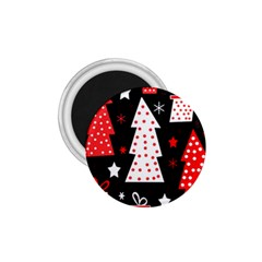 Red playful Xmas 1.75  Magnets