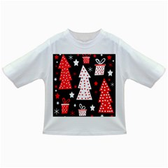 Red playful Xmas Infant/Toddler T-Shirts