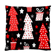 Red playful Xmas Standard Cushion Case (Two Sides)