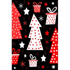 Red playful Xmas 5.5  x 8.5  Notebooks