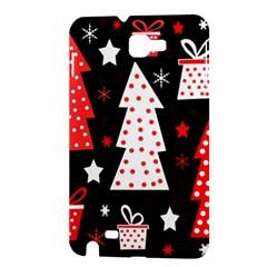 Red playful Xmas Samsung Galaxy Note 1 Hardshell Case