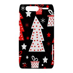 Red playful Xmas Motorola Droid Razr XT912