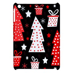 Red playful Xmas Apple iPad Mini Hardshell Case