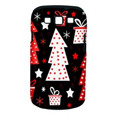 Red playful Xmas Samsung Galaxy S III Classic Hardshell Case (PC+Silicone)
