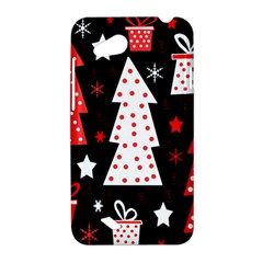 Red playful Xmas HTC Desire VC (T328D) Hardshell Case