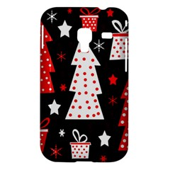 Red playful Xmas Samsung Galaxy Ace Plus S7500 Hardshell Case