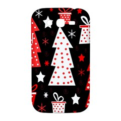 Red playful Xmas Samsung Galaxy Grand DUOS I9082 Hardshell Case