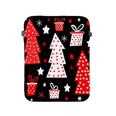 Red playful Xmas Apple iPad 2/3/4 Protective Soft Cases