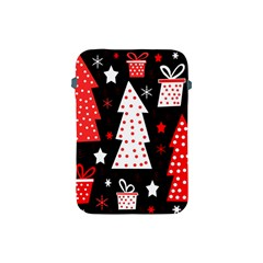 Red playful Xmas Apple iPad Mini Protective Soft Cases