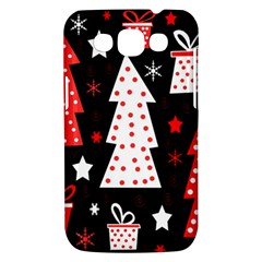 Red playful Xmas Samsung Galaxy Win I8550 Hardshell Case