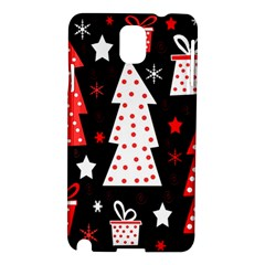 Red playful Xmas Samsung Galaxy Note 3 N9005 Hardshell Case
