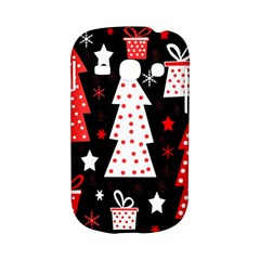 Red playful Xmas Samsung Galaxy S6810 Hardshell Case