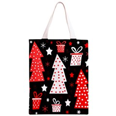 Red playful Xmas Classic Light Tote Bag