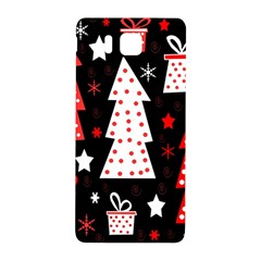 Red playful Xmas Samsung Galaxy Alpha Hardshell Back Case
